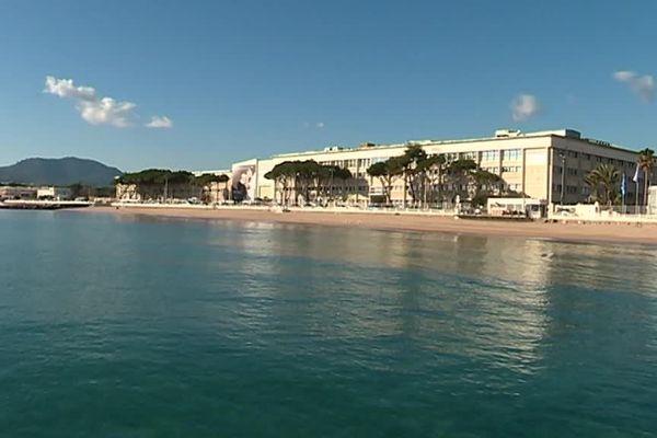 Le site de Thales Alenia Space de Cannes.