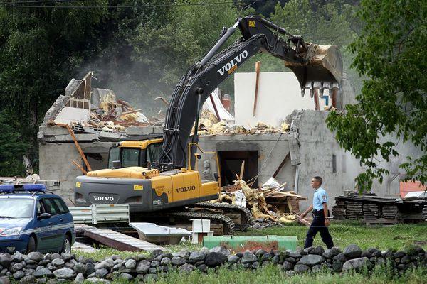 La démolition d'une maison après une expropriation, dans l'Isère - Photo d'illustration