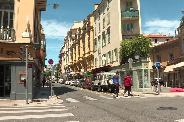 Dès le 9 et jusqu'au 30 juin, la rue Chauvain de Nice sera piétonne, comme 3 autres rues.