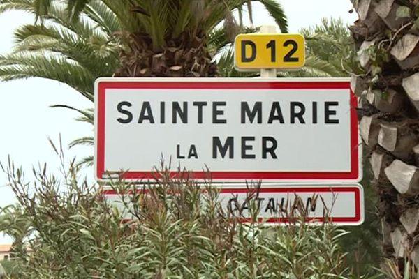 La commune de Sainte-Marie-la-Mer dans les Pyrénées-Orientales a retrouvé son nom complet... Elle avait perdu la mer il y a plus d'un siècle - 15 février 2017
