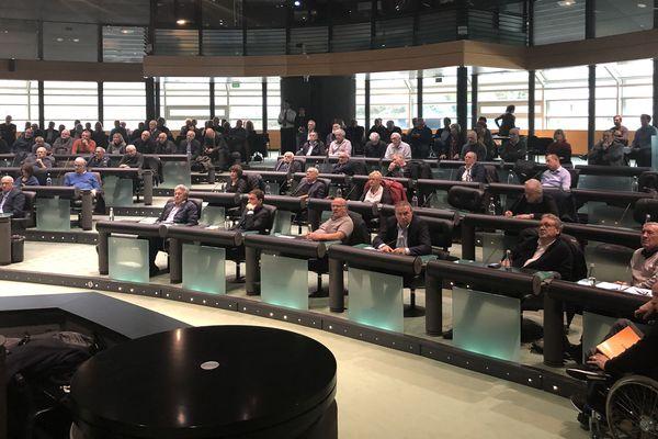 Ce vendredi 15 novembre, la chambre des territoires s'est réunie en séance exceptionnelle, à Bastia, afin d'examiner le nouveau règlement d'aides aux collectivités.