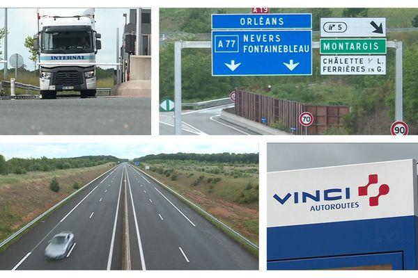 La Tres Chere Autoroute A19 Entre Artenay Et Courtenay A 10 Ans