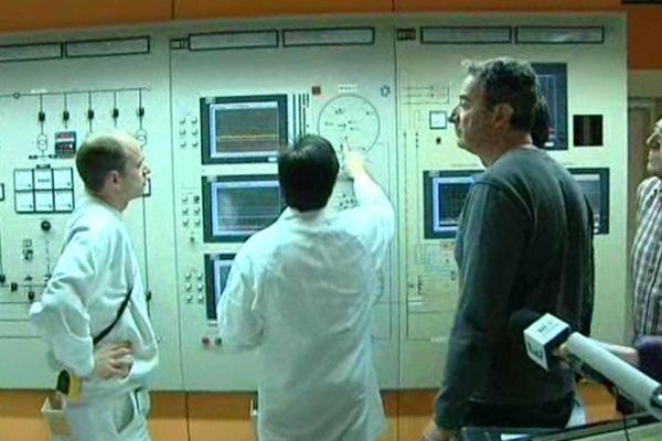 Exercice de sûreté nucléaire à l'Institut Laue-Langevin de Grenoble