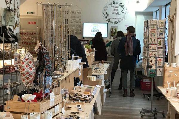 Une boutique éphémère ouverte du 2 au 29 décembre