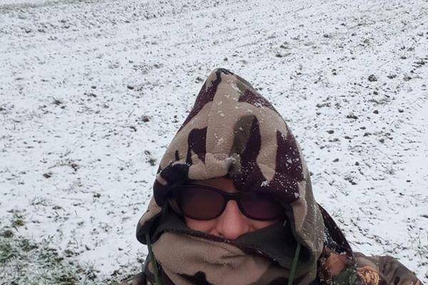 Neige à La Croisère (Creuse) le 22.01.2019