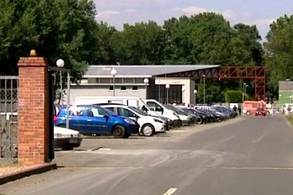 A Precigné, dans la Sarthe, la société Alsetex fabrique notamment les grenades GLI F4