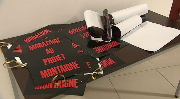 En juin dernier, les opposants au projet Montaigne réclamaient un moratoire. Ils n'ont finalement pas été entendus par le maire Antoine Audi.