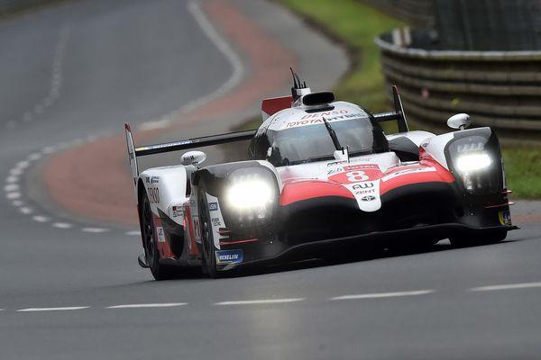 La Toyota n°8 pilotée notamment par l'Espagnol Fernando Alonso a les faveurs des pronostics pour remporter la 86e édition des 24 Heures du Mans, les 16 et 17 juin 2018.