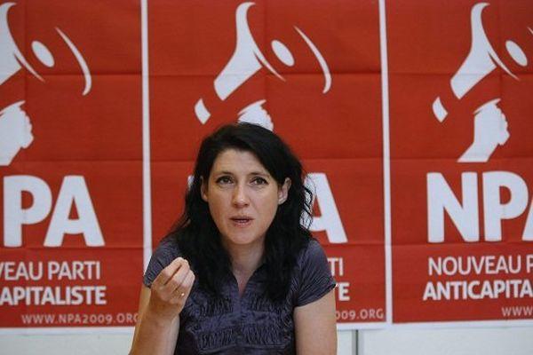 Myriam Martin, co-signataire de l'appel pour la liste du Front de Gauche.