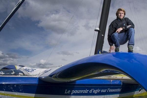 François Gabart est en tête du classement à moins de 24 heures du départ de cette transatlantique en solitaire