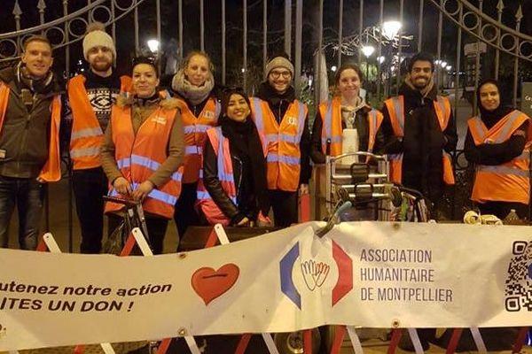 L'association Humanitaire de Montpellier continue ses maraudes malgré le confinement - mars 2020