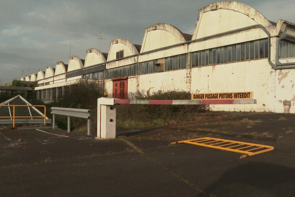 L'ex usine Thomson à Angers, fermée en 2013