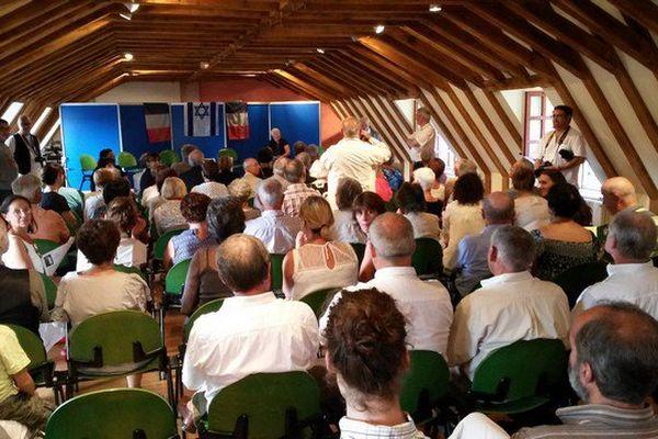 Une cérémonie a eu lieu à Eymetiers pour célébrer la journée nationale consacrée à la mémoire des victimes des crimes racistes et antisémites de l'Etat Français