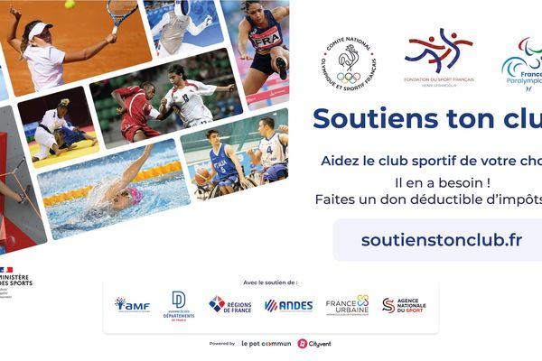 Un fonds de solidarité nationale a été mis en place sur la plateforme http://www.soutienstonclub.fr au bénéfice de tous les clubs sportifs, impactés financièrement par la crise liée au coronavirus.