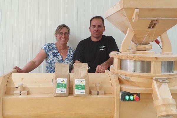 Emilie et David Blot n'imaginaient pas avoir autant de grain à moudre aussi rapidement !