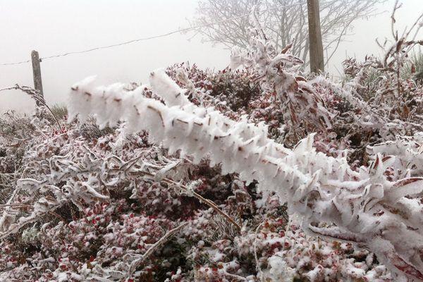 Première neige au Honeck.