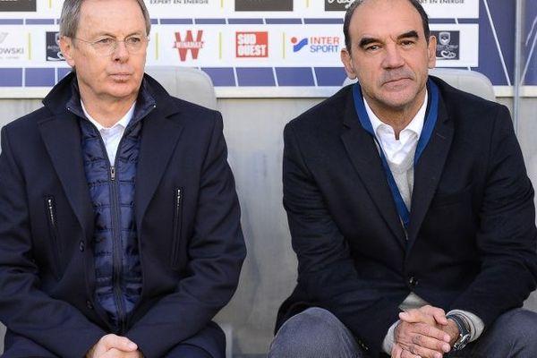 Eric Bedouet et Ricardo Gomes.