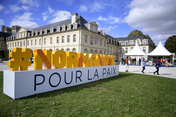La 4ème édition du forum Normandie pour la paix a été créé en 2018 par la Région Normandie.