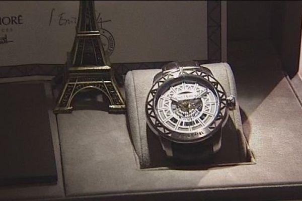 La montre Tour Eiffel de Saint Honoré à Charquemont