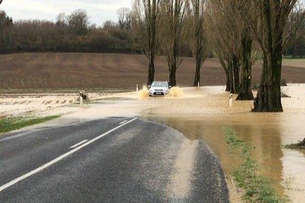Circulation difficile sur certains axes en Meuse. Il s'agit de respecter scrupuleusement la signalisation routière mise en place.