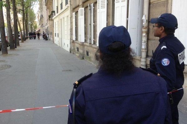 Un fourgon blindé a été attaqué jeudi matin devant le 57 boulevard Pereire dans le XVII ème arrondissement de Paris
