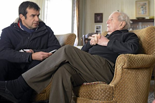 Régis Le Sommier aux cotés d'Albert Daul