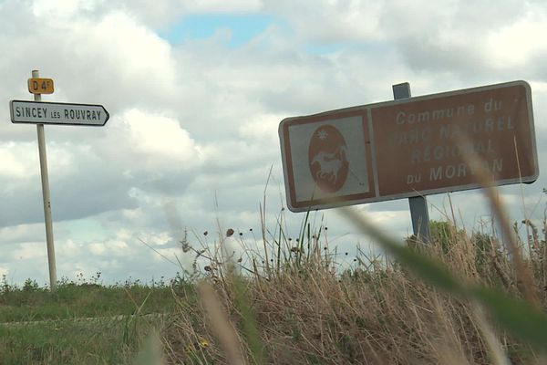 La commune de Sincey-lès-Rouvray (Côte d'Or) ne figure plus dans le périmètre du Parc du Morvan
