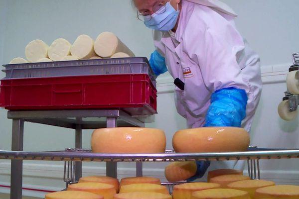 Depuis 150 ans les sœurs d'Échourgnac fabriquent ce fromage à la liqueur de noix