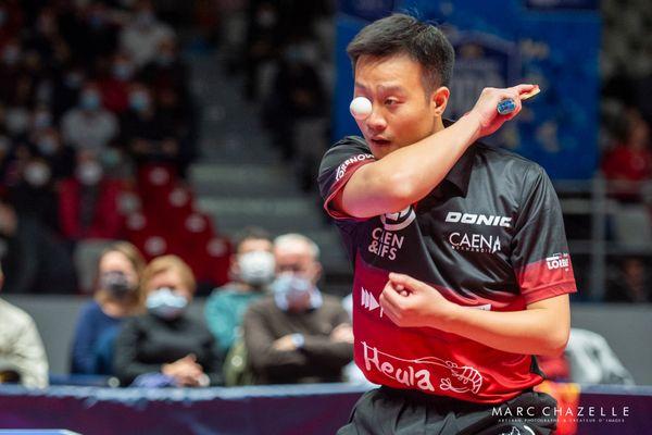 En gagnant plus de 65% de ses matchs, le sino-slovaque Wang Yang a permis au Caen TTC de grimper au classement de Pro A cette saison.