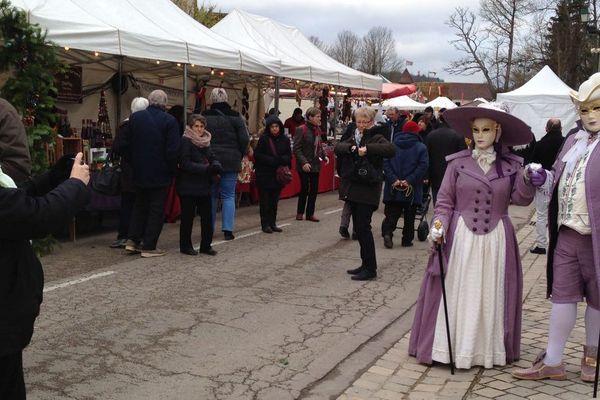 Le marché de Noël d'Argenteuil-sur-Armançon dans l'Yonne