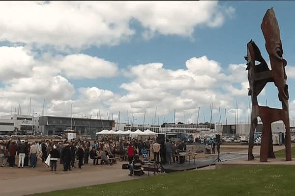 Cérémonie pour commémorer les 170 ans de l'abolition de l'esclavage à Brest