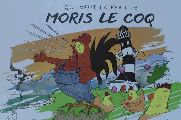 Une BD sur l'histoire du coq Maurice