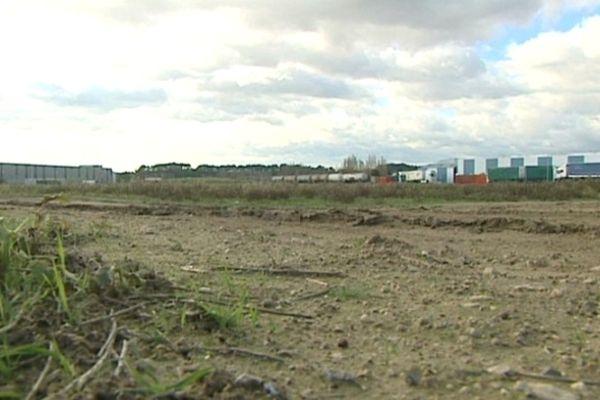 La fabrique de goudron devrait s'installer sur ce terrain, dans la zone d'activités située à l'Ouest de Béziers.