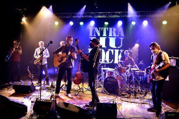 Le groupe boulonnais Yolo en enregistrement.