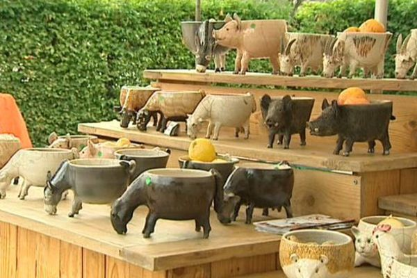 Depuis 2000, le marché des potiers crée l'événement dans cette commune de 1000 habitants.