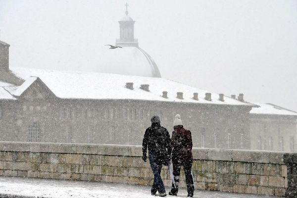 Episode neigeux à Toulouse de Février 2015