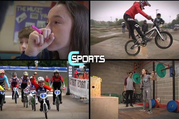 Cette semaine C Sports dresse le portrait de l'Alençonnaise Léa Brindjonc, championne du monde de BMX