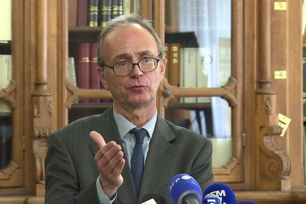 Christian Mercuri, procureur de la République de Metz.