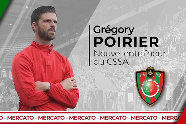 Grégory Poirier est le nouvel entraîneur du club du CSSA.