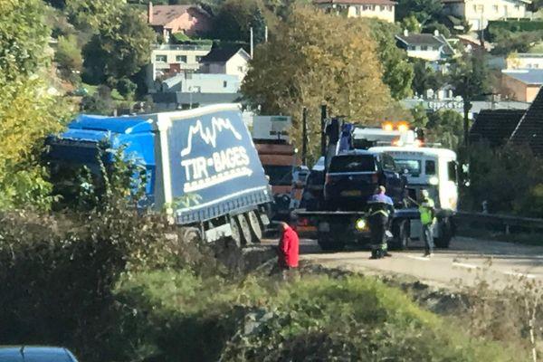 Un accident mortel s'est produit ce vendredi 22 octobre à Besançon.