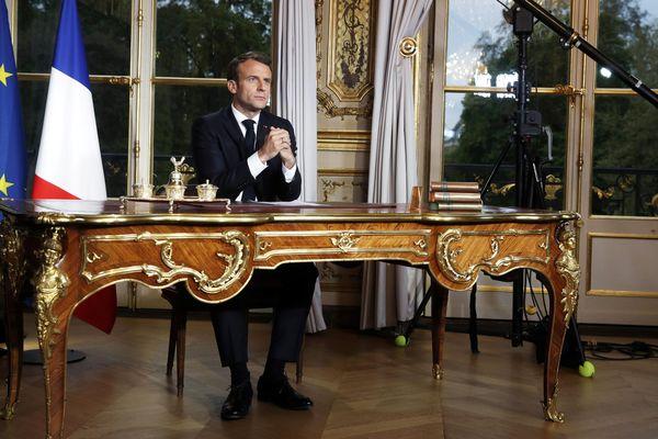 Le chef de l'Etat a tenu une allocution télévisée ce jeudi soir. Photo d'archives.