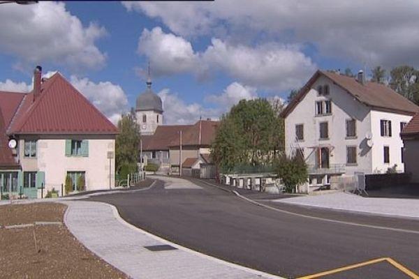 Mignovillard est le plus important village du canton de Nozeroy dans le Jura