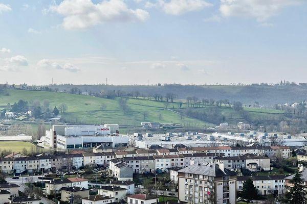 L'usine Bosch d'Onet-le-Château, aux portes de Rodez