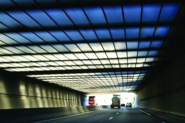 Le tunnel de l'A20 dans la traversée de Limoges (illustration)