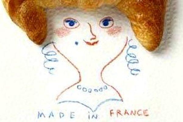 Le croissant l'emblématique du made in France