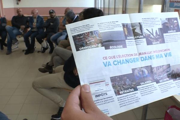 Présidentielle : les militants de la Corse insoumise multiplient les réunions publiques dans les villages