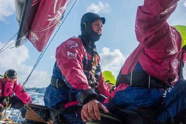 Les filles du Team SCA sur la Volvo Ocean Race