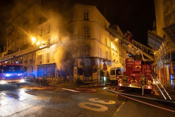 Un incendie s'est déclaré dans un restaurant du 14e arrondissement le 2 mai.