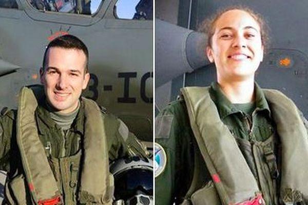 L'Armée de l'Air a dévoilé les visages de ses deux pilotes disparus en service dans le crash du Mirage 2000 D. Baptiste Chirié et Audrey Michelon avaient une trentaine d'années.