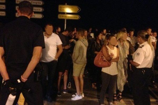 06/09/14 - Contrôle de stupéfiants dans un établissement de nuit à Ajaccio